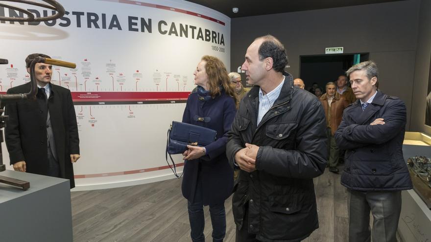 """Diego afirma que """"Cantabria es una región sólida e industria"""""""