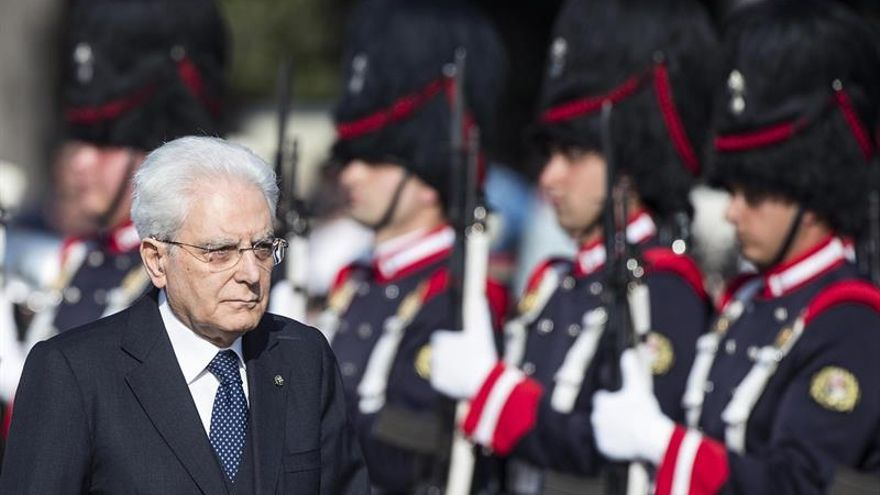Mattarella celebrará una nueva ronda de consultas para formar Gobierno el próximo día siete