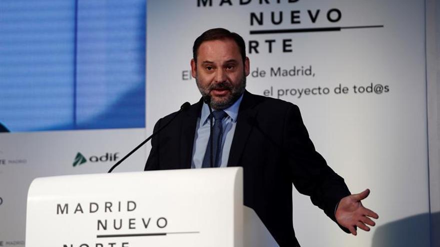 Ábalos confía en que el Corredor del Mediterráneo Algeciras-Francia estará listo en 2021
