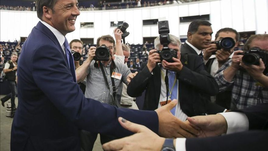 Renzi pide que se recuerden los valores de Europa y se luche por ellos