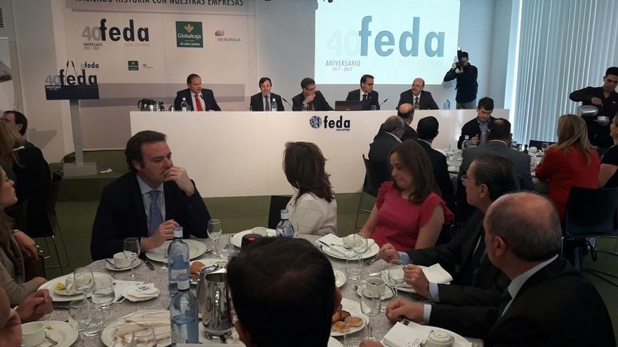Desayuno con el ministro Álvaro Nadal, hoy en FEDA Albacete