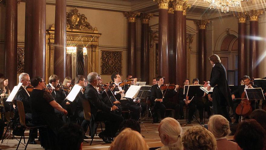 La Orquesta de Cámara Rusa de San Petersburgo.