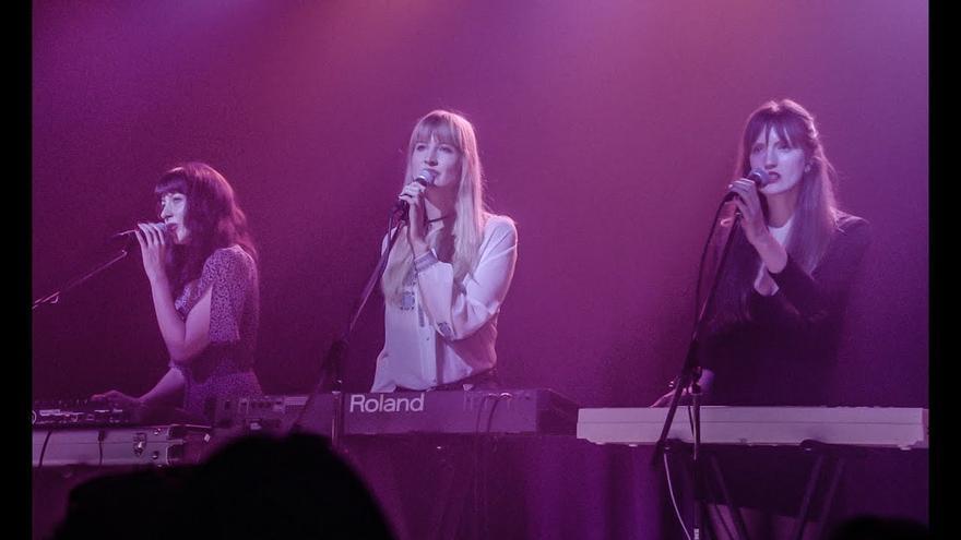 Annie Hart, junto a las componentes de Au Revoir Simone, en la nueva temporada de Twin Peaks
