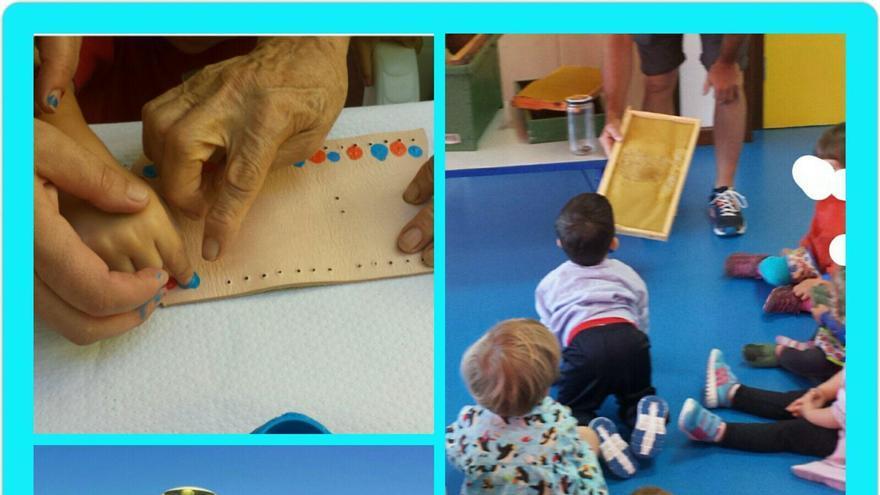 Las imágenes recogen varios momentos de las múltiples actividades que se realizan durante el curso en la Escuela Infantil de Tijarafe (visitas guiadas, actividades con los mayores...). Cedida por el Ayuntamiento de Tijarafe.