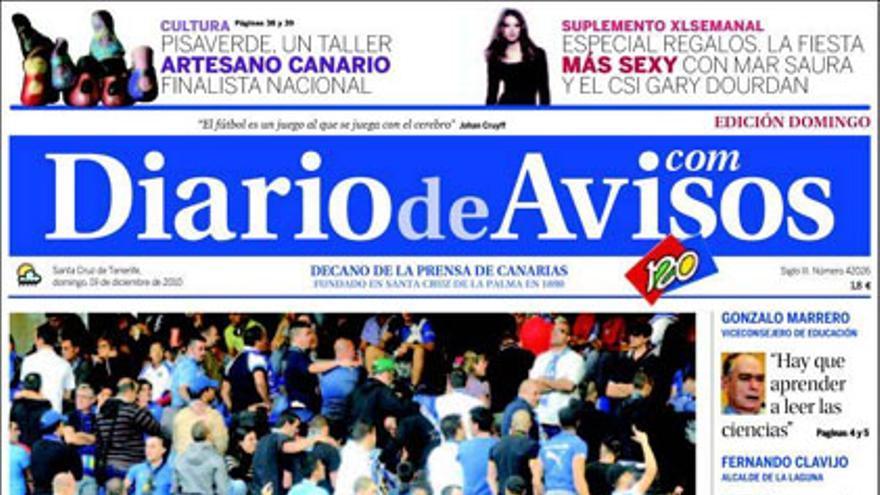 De las portadas del día (19/12/2010) #3