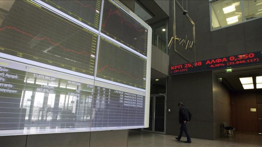 La Bolsa de Atenas abre con una caída del 3,7 por ciento