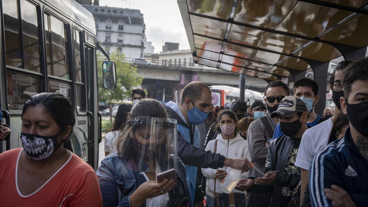 Controles en el transporte público