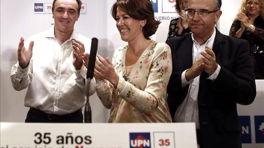 Esparza liderará la lista de UPN al Parlamento foral en mayo de 2015