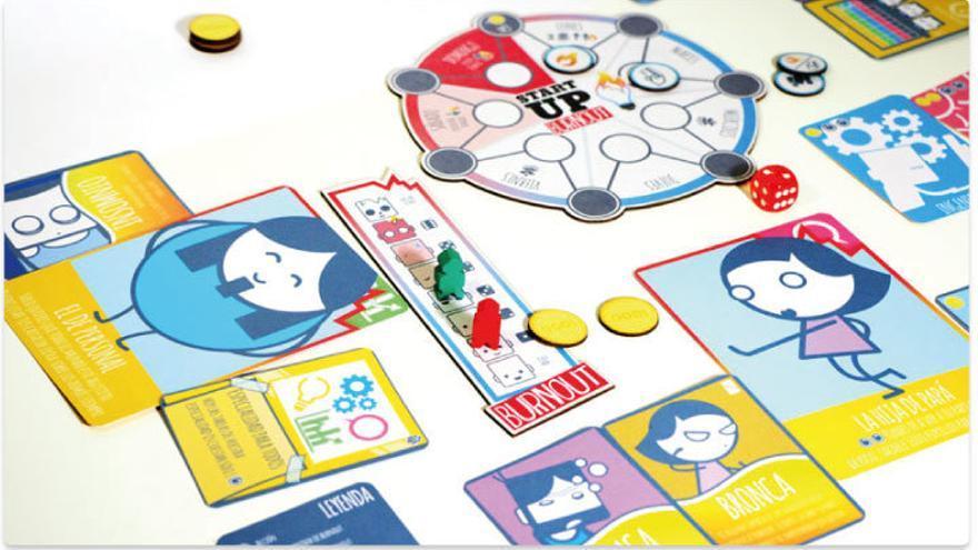 StartUp Burnout, el juego de mesa que saca a la luz el drama más frecuente de los emprendedores