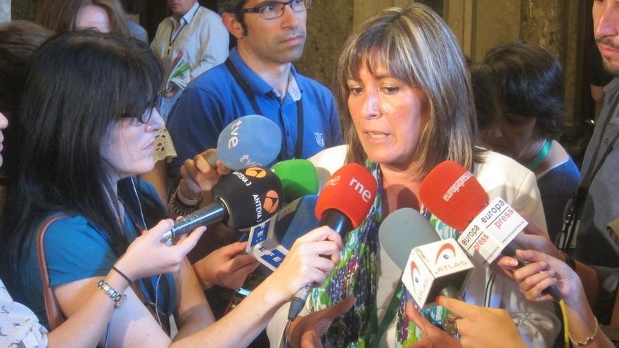 """Núria Marín se incorpora a la Ejecutiva del PSOE con la voluntad de que se entienda """"bien"""" el problema de Cataluña"""
