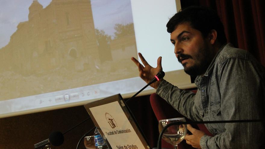 Rubén Díaz, investigador y licenciado en Comunicación Audiovisual.