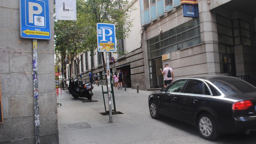 Calle del barrio de Malasaña, en el centro de Madrid.