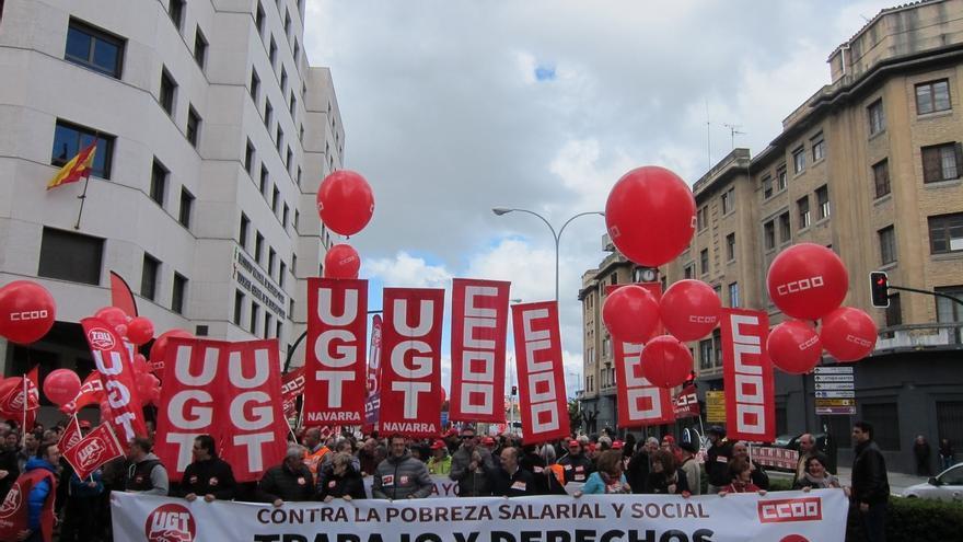 """CCOO y UGT reclaman que el próximo Gobierno de España de """"un giro a la izquierda"""""""