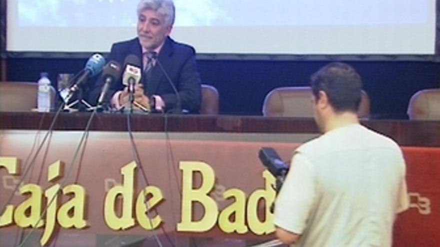 Presidente Caja Badajoz sobre la fusión