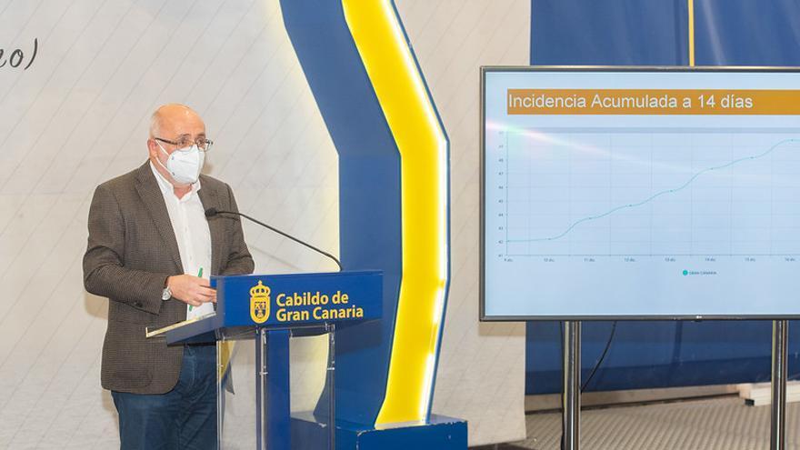 El presidente del Cabildo de Gran Canaria, partidario de endurecer las restricciones: