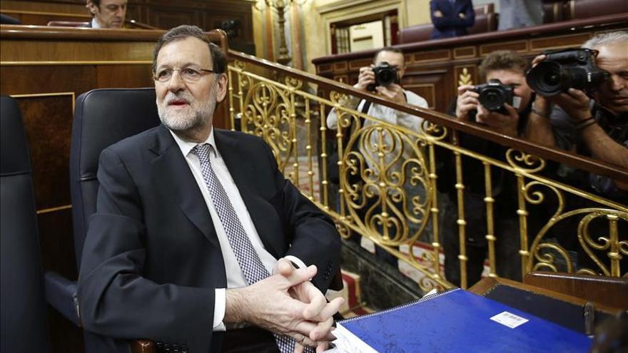 """Rajoy exige a Sánchez """"no hacer campañas a costa del sufrimiento de la gente"""""""