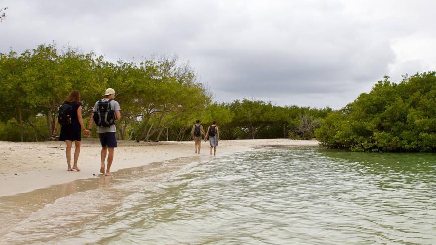 Playa de Bahía Tortuga, en Santa Cruz (Islas Galápagos). VA