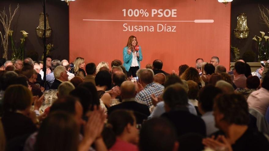 """Susana Díaz no permitirá que el PSOE se """"disfrace"""" de lo que no es ni sea arrastrado a posiciones que no son las suyas"""