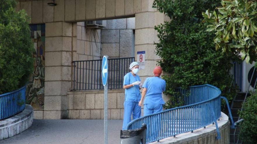 Personal sanitario en Toledo