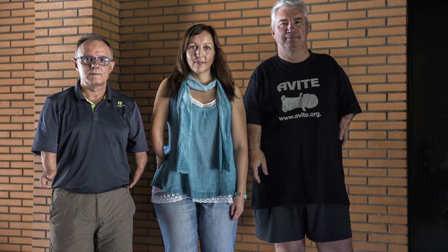 Manuel Bioque, Ana Castillo y Rafael Basterrechea no están satisfechos por la decisión de Estrasburgo