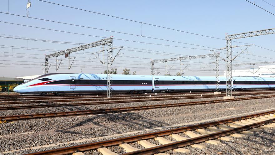 Vagones de alta velocidad de Bombardier en China