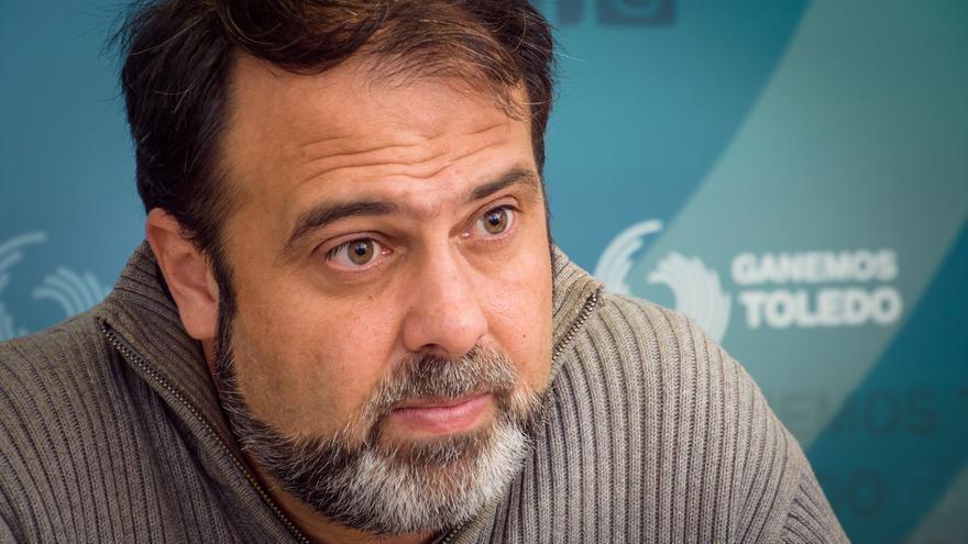 El portavoz de Ganemos Toledo, Javier Mateo