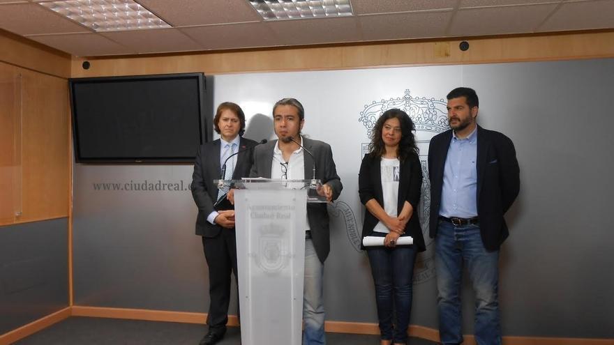 Rueda de prensa de la Junta, el Ayuntamiento de Ciudad Real y la Diputación provincial