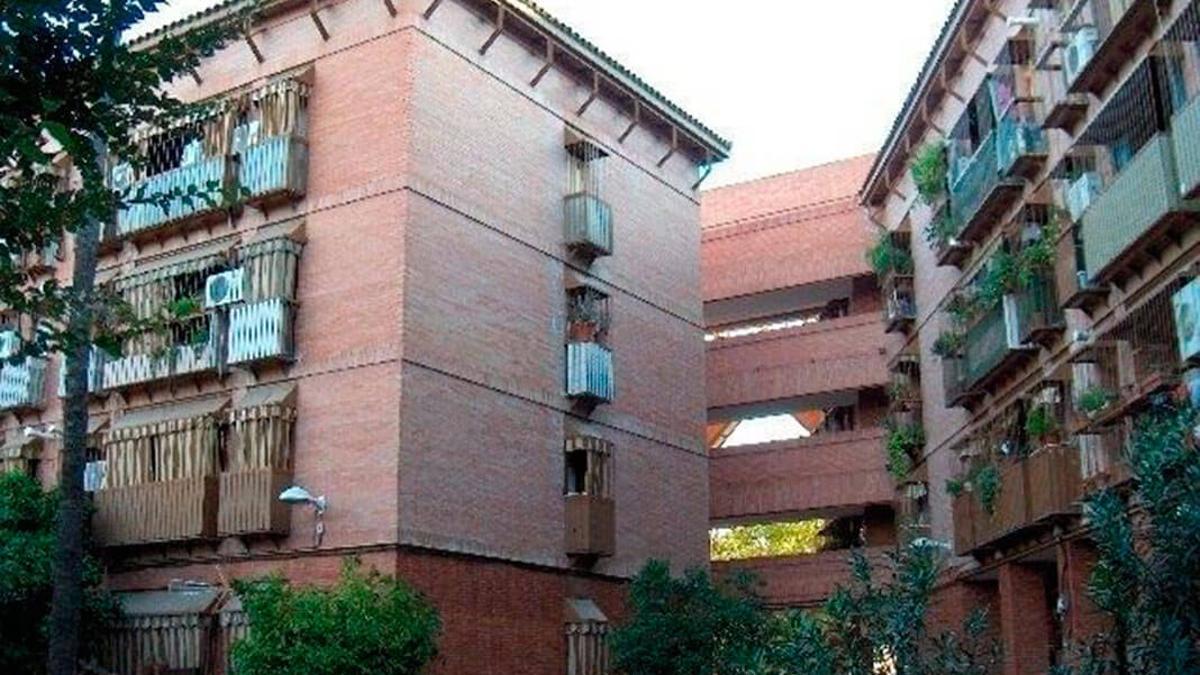 Bloques de pisos en Las Moreras.