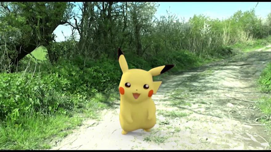 El Pokémon Pikachu en Pokémon Go