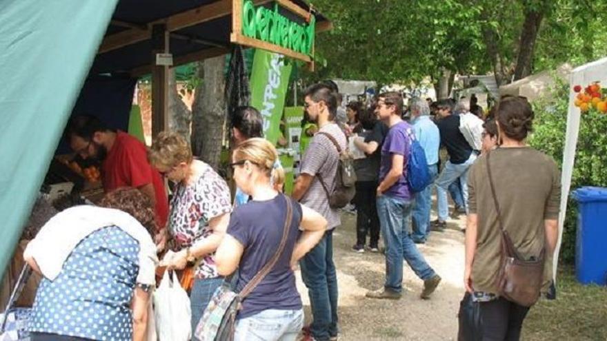Imagen de una edición anterior de la Feria de Ecología