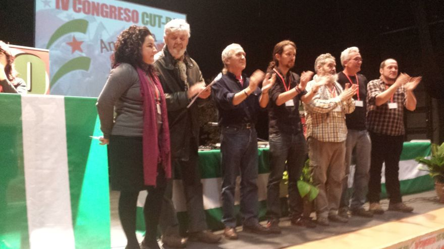 Sánchez Gordillo, reelegido como portavoz nacional de la nueva dirección política de CUT-BAI
