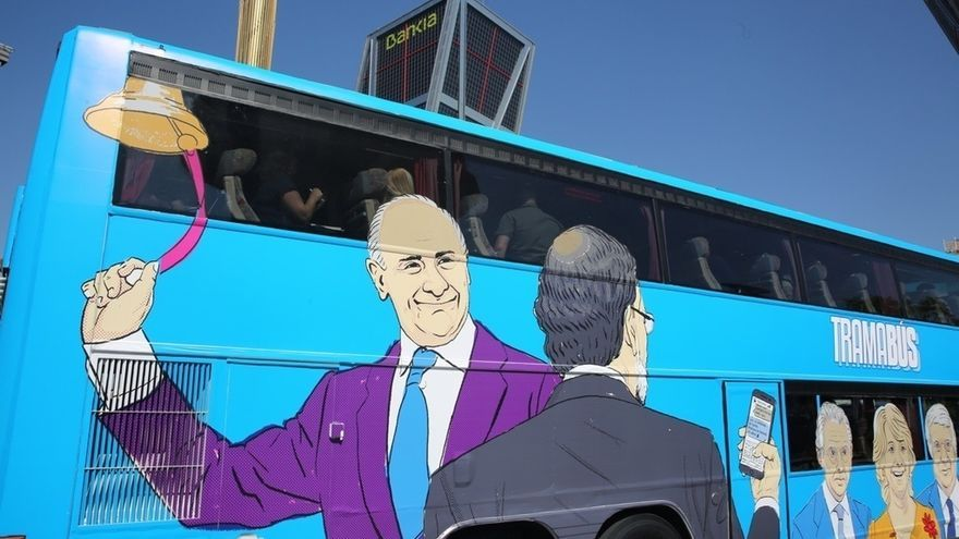 """Barbero sostiene que el """"TramaBús"""" no contraviene la ordenanza porque los partidos pueden hacer campañas todo el año"""