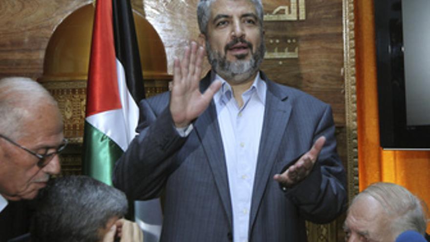 Jaled Meshal, Lider del movimiento palestino Hamas