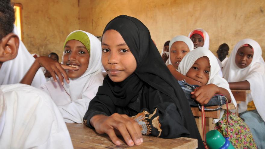 Alumnas de una escuela del campo de refugiados de Kakuma (Kenia). UNESCO/D. Willetts
