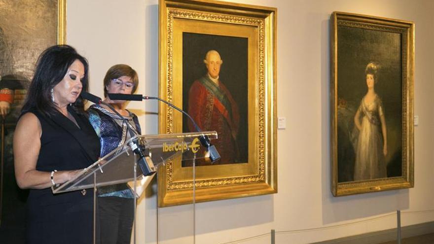 El primer retrato oficial de Carlos IV, pintado por Goya, llega a Zaragoza