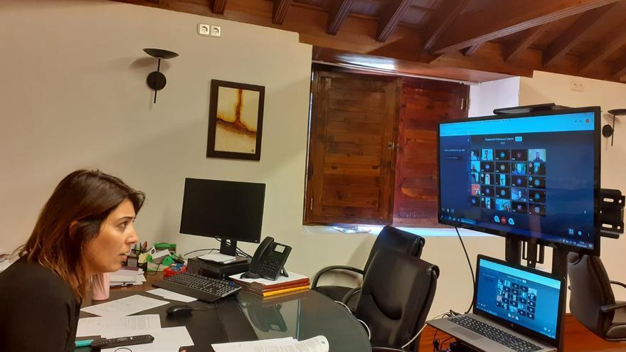 Reunión participación ciudadana La Laguna