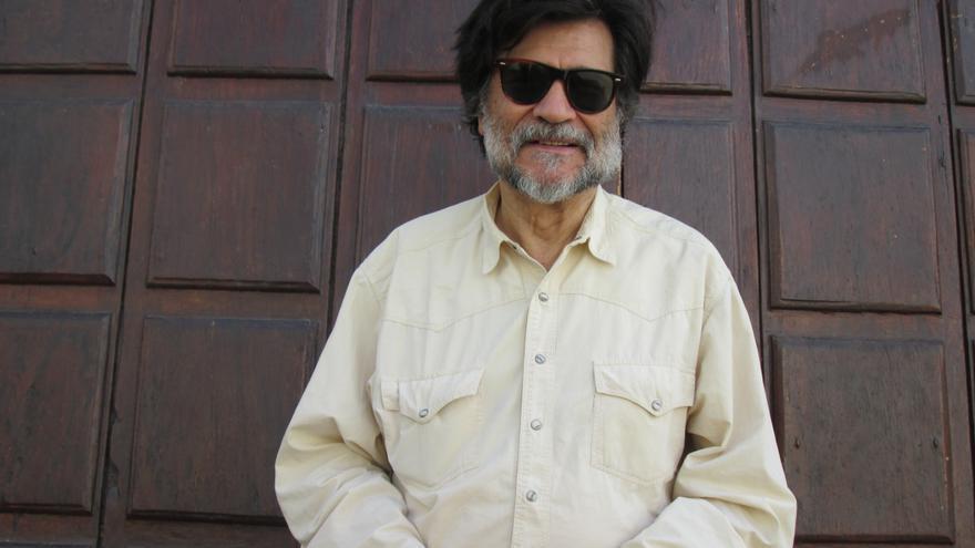 El cineasta Víctor Erice se encuentra en La Palma. Foto: LUZ RODRÍGUEZ.
