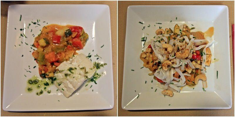 Bacalao confitado, salteado de pollo y que viva el plato cuadrado | SOMOS MALASAÑA