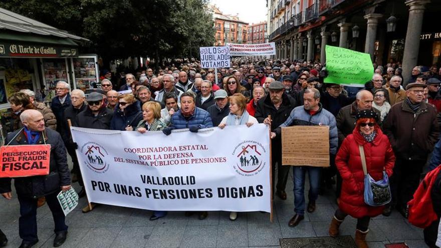 El gasto en pensiones superó los 8.925 millones en febrero, un 3,05 por ciento más