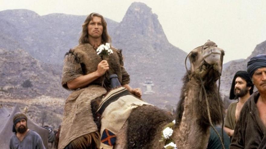 Escena de 'Conan, el bárbaro'