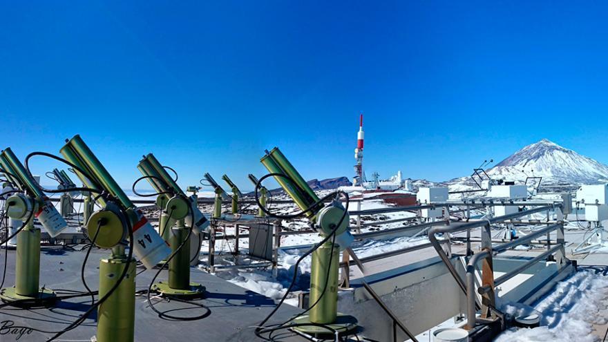 Observatorio Meteorológico de Izaña.