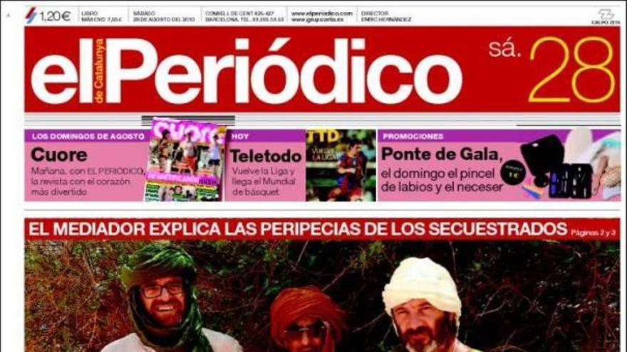 De las portadas del día (28/08/2010) #11