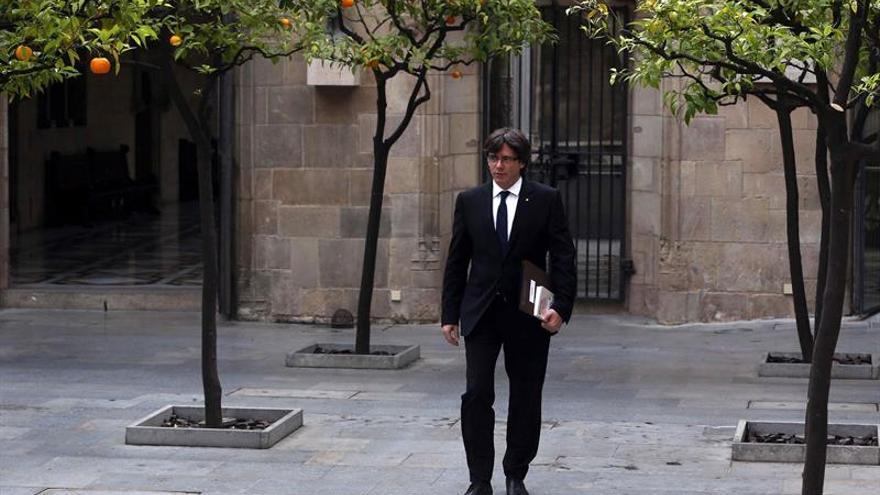 El TSJC cree legal que Puigdemont prometiese el cargo sin acatar la Constitución