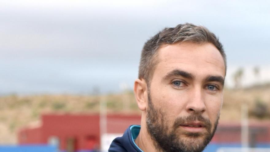 Ayoze Díaz, en su primera etapa en el club granadillero