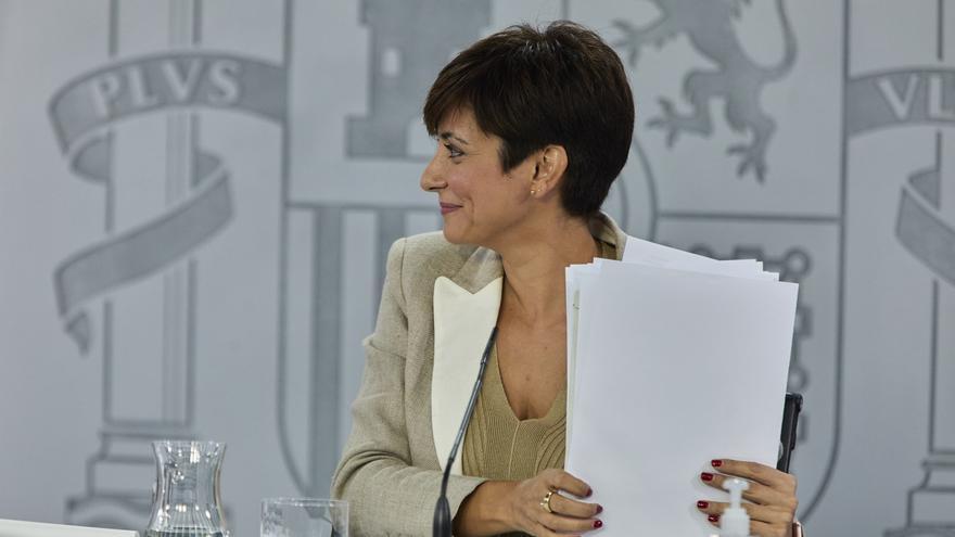 La ministra Portavoz, Isabel Rodríguez. Foto de archivo.