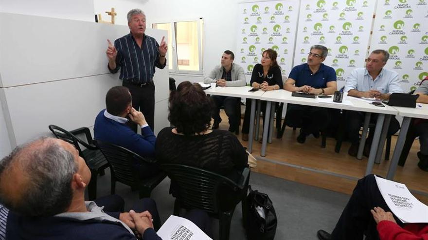 Pedro Quevedo, en la ejecutiva nacional de Nueva Canarias