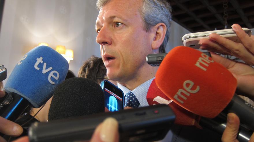 """Rueda, a """"disposición"""" de Feijóo para seguir como secretario general, admite que hablaron de candidatos alternativos"""
