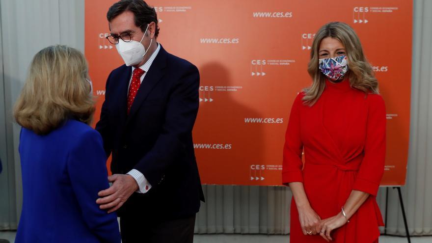 Díaz avanza una revisión de la garantía juvenil con un impulso a la formación
