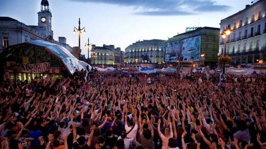 Puerta del Sol de Madrid, movimiento 15M