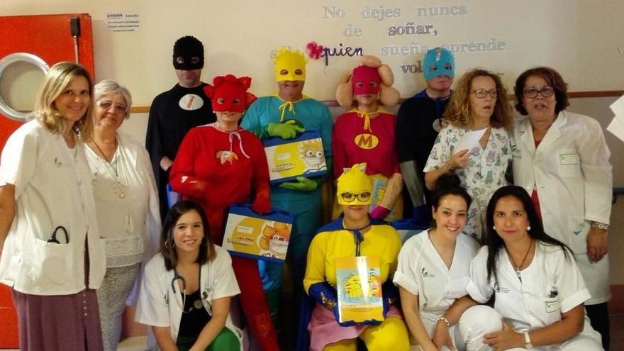 Valdecilla se suma al proyecto 'Poción de héroes' para ayudar a los niños con cáncer